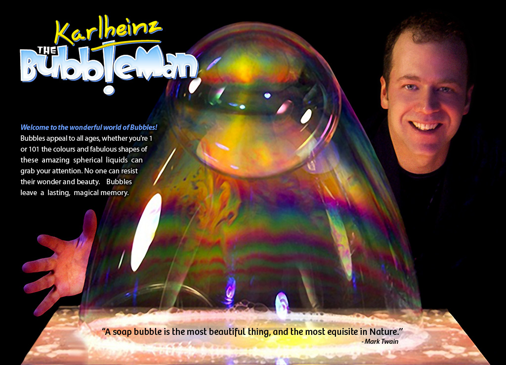 Karlheinz The Bubbleman